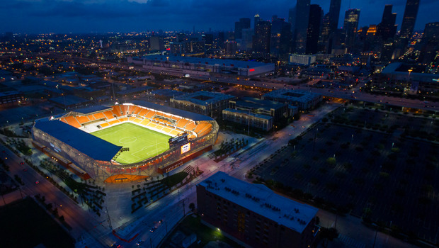 BBVA Compass Stadium wins multiple Houston Business Journal Landmark Awards   Houston Dynamo
