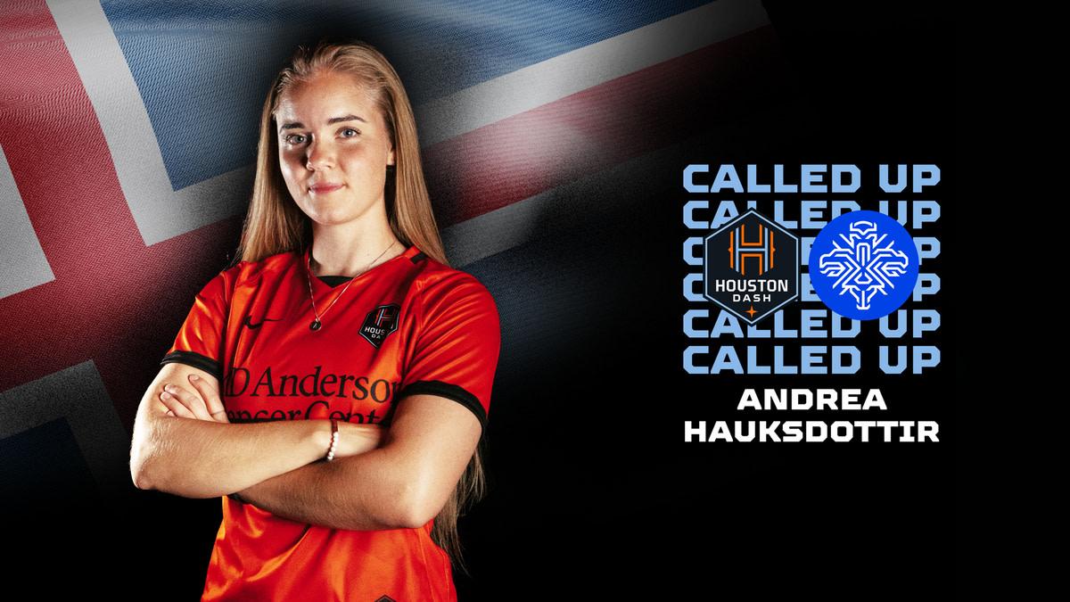 Midfielder Andrea Hauksdottir named to Icelandic Women's National Team | Houston Dynamo
