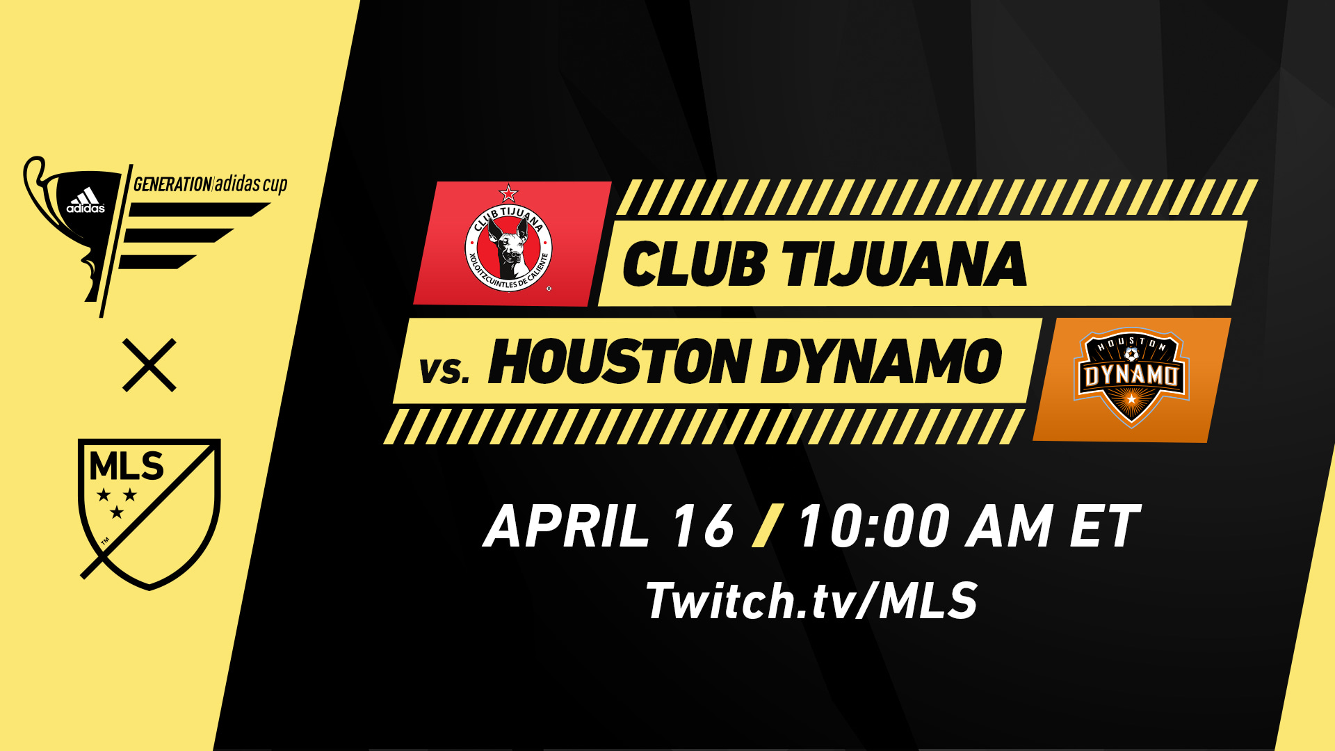 Twitch announced as exclusive streaming destination for 2019 Generation adidas Cup | Houston Dynamo