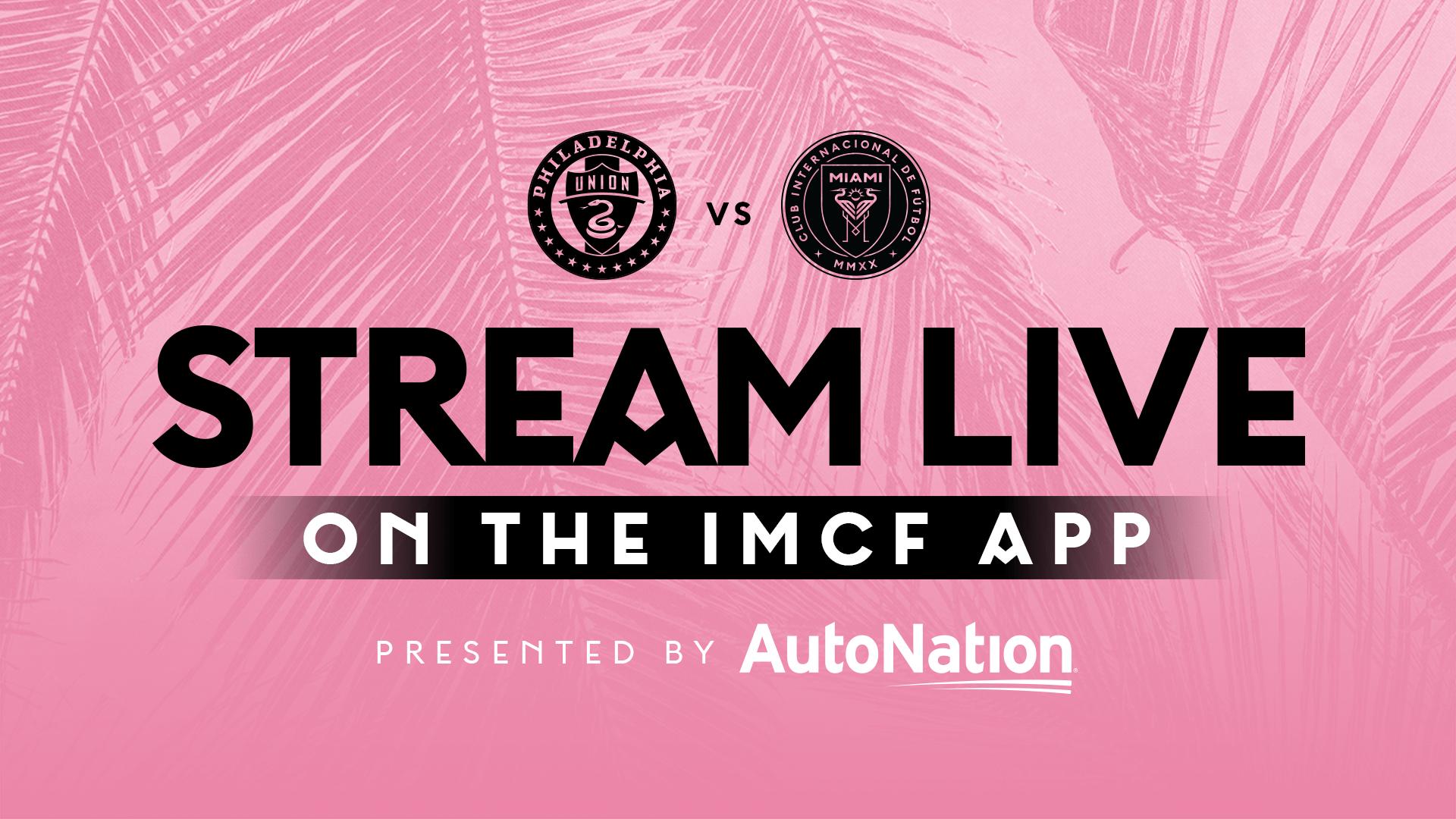 Stream Match for Free: Philadelphia Union vs Inter Miami CF   April 24, 2021   Inter Miami CF