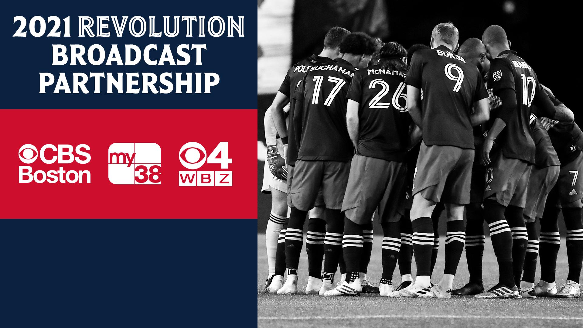 CBS Boston and New England Revolution announce new local broadcast partnership | New England Revolution