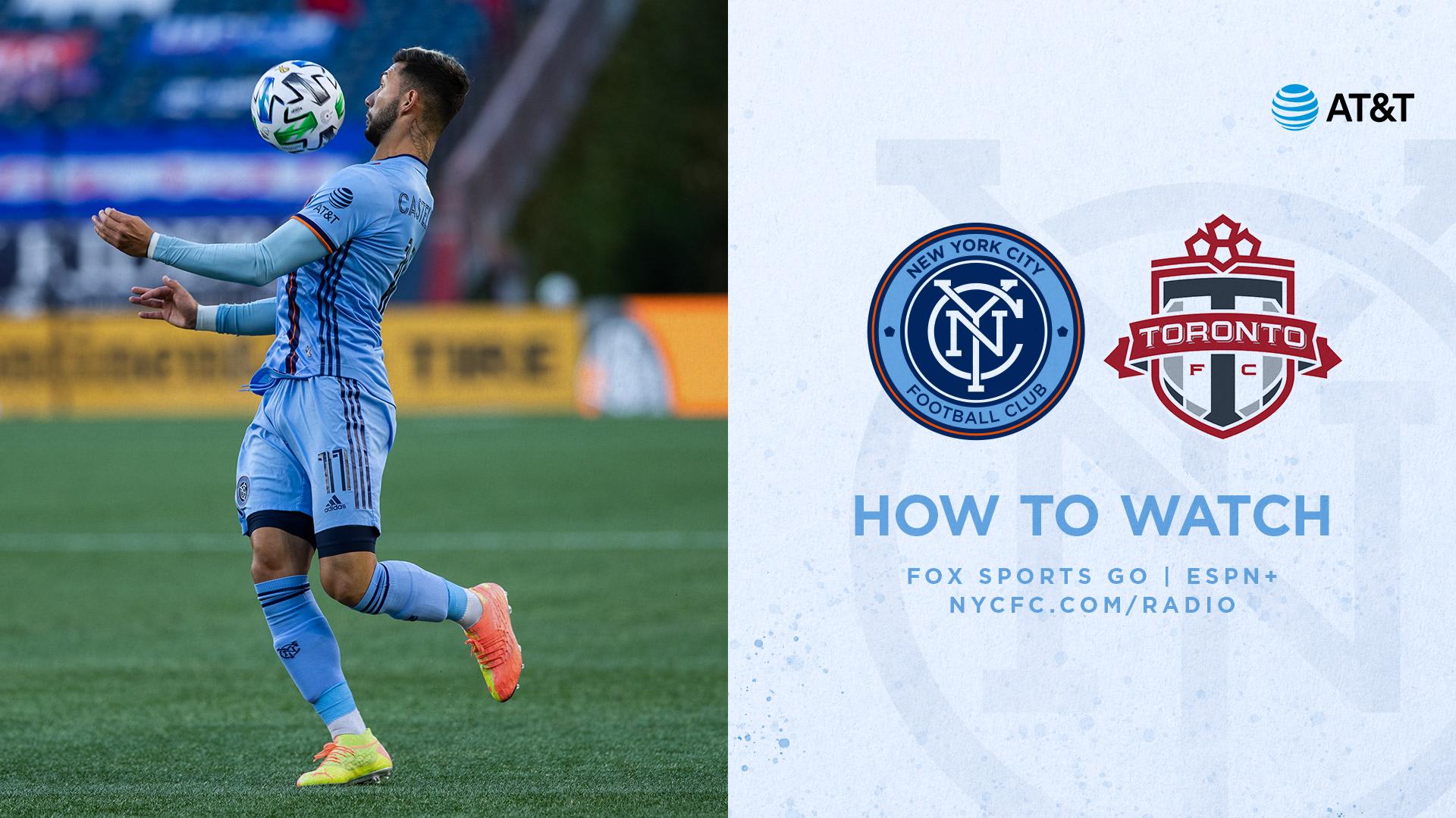 How to Watch & Listen to NYCFC vs. Toronto FC | New York City FC