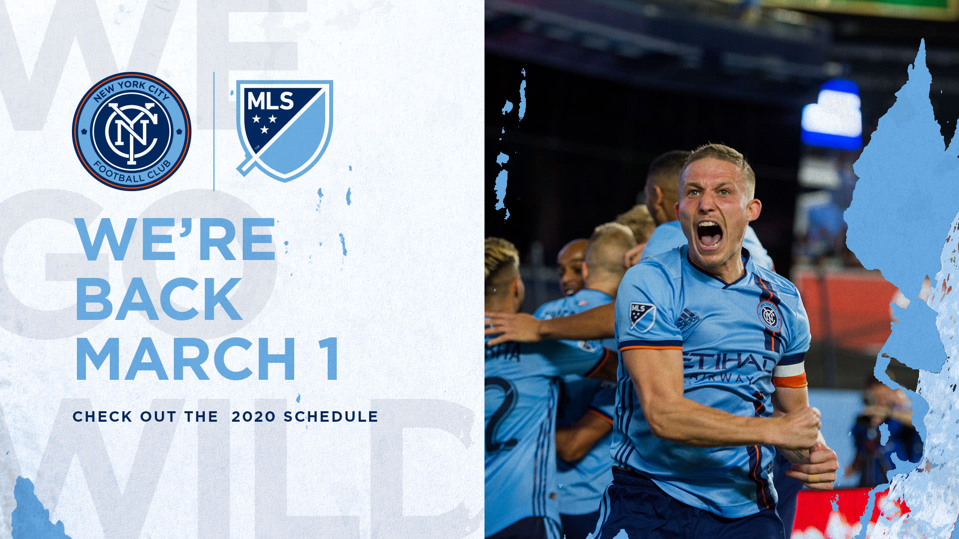 New York City FC's 2020 MLS Regular Season Schedule Released | New York City FC