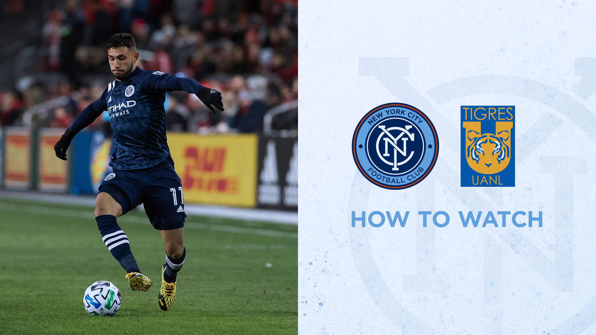 What TV Channel is NYCFC vs. Tigres UANL? | New York City FC