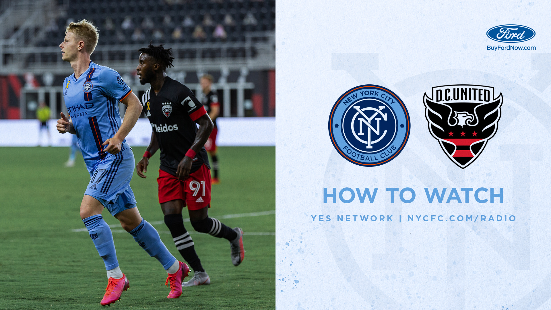 How to Watch & Listen to NYCFC vs. DC United | New York City FC