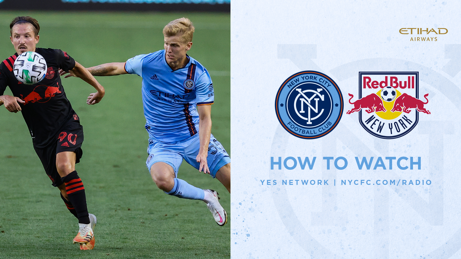 How to Watch & Listen to NYCFC vs. Red Bulls | New York City FC
