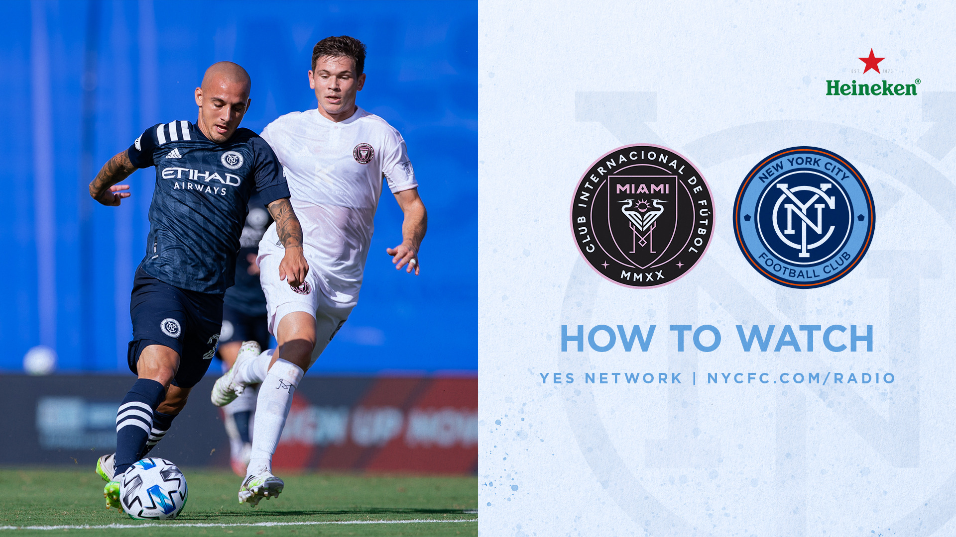 How to Watch & Listen to Inter Miami vs. NYCFC | New York City FC