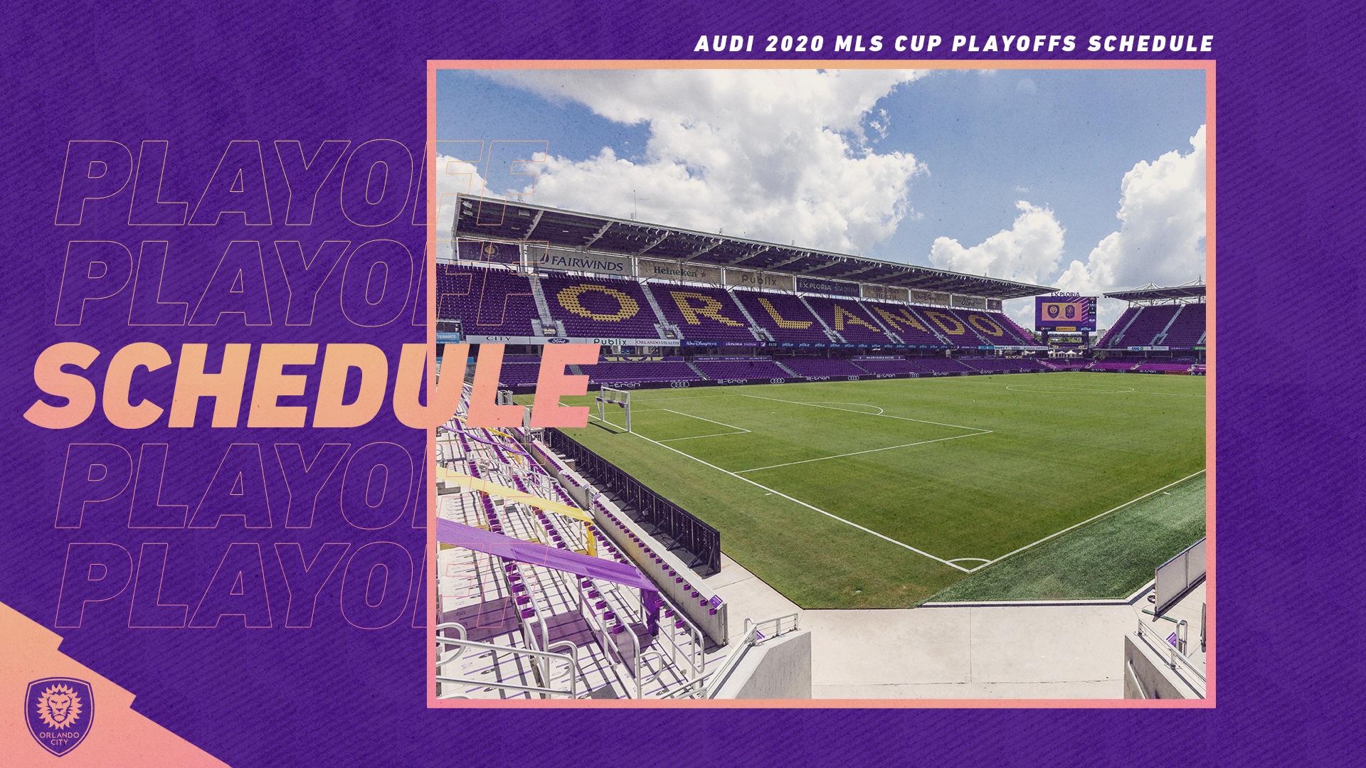 MLS Announces Audi 2020 MLS Cup Playoffs Schedule | Orlando City
