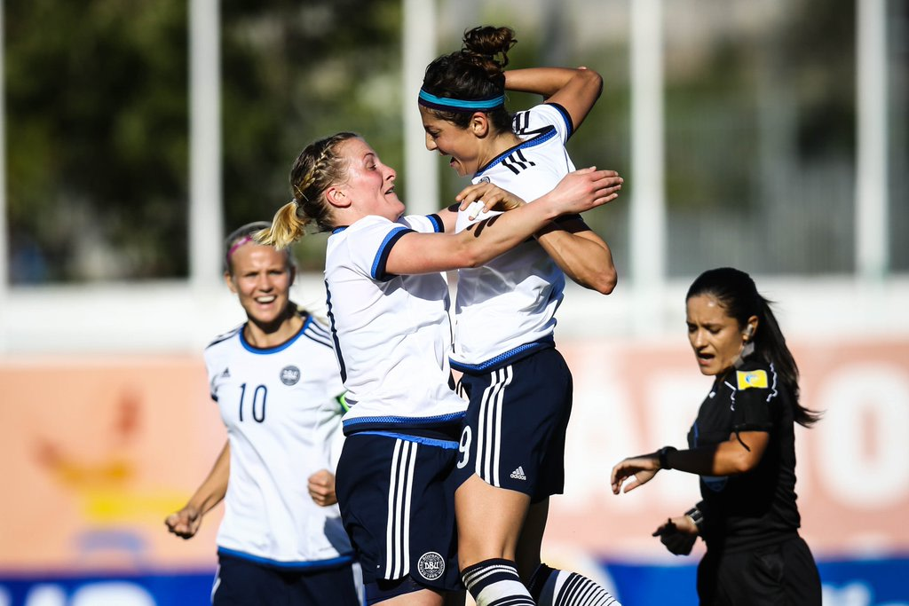 Algarve Cup   Thorns FC's Nadia Nadim and Dagny Brynjarsdottir both score in tournament action action   Portland Timbers