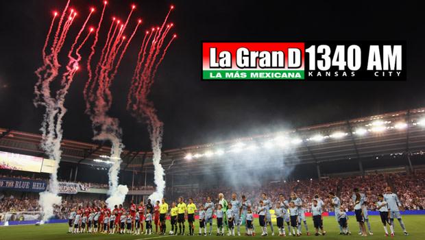 La Gran D 1340 AM is Spanish-language radio partner for 2012 | Sporting Kansas City