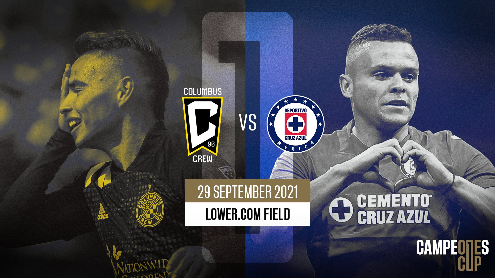 Columbus Crew to host Campeones Cup 2021 against Cruz Azul at Lower.com Field on September 29 | MLSSoccer.com