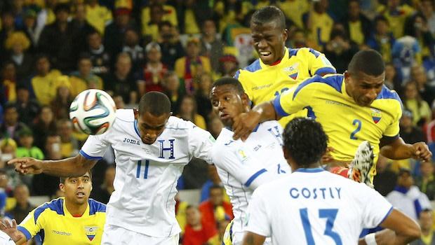 Honduras 1, Ecuador 2: 2014 FIFA World Cup   Group E Match Recap   MLSSoccer.com