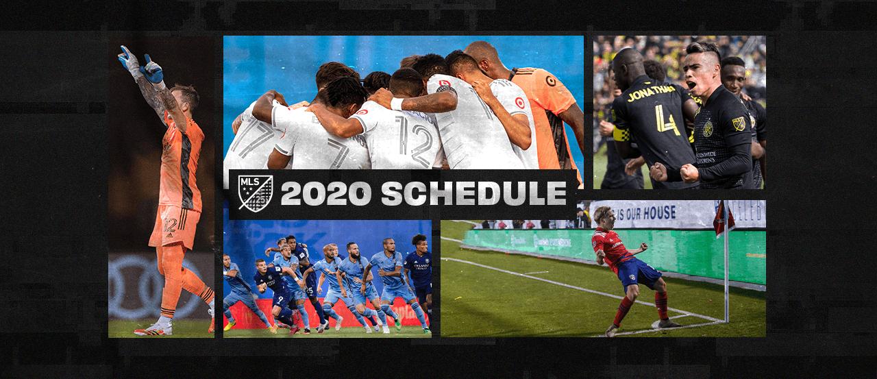 MLS regular season match schedule released through September   MLSSoccer.com
