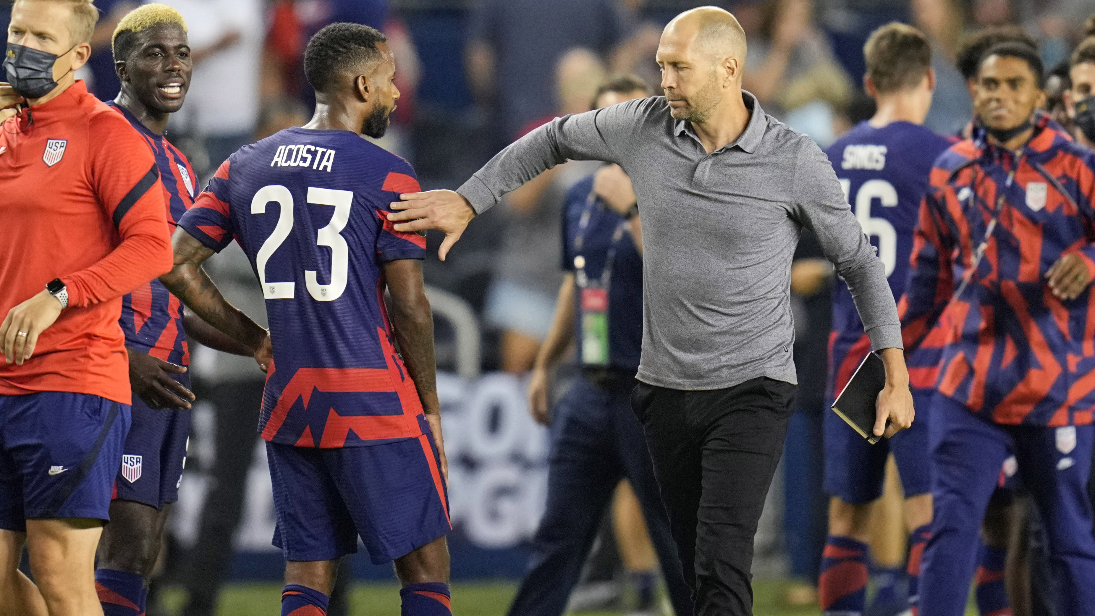 Berhalter: USMNT and Canada are