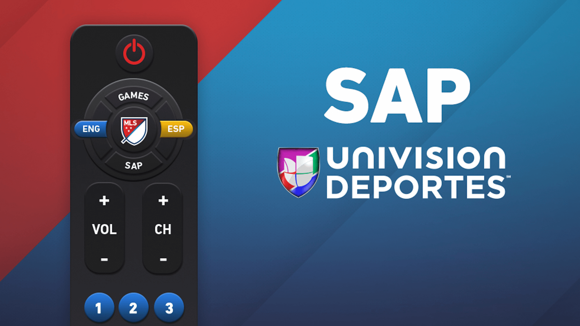 How to watch MLS in English on TUDN or UniMás with SAP | MLSSoccer.com