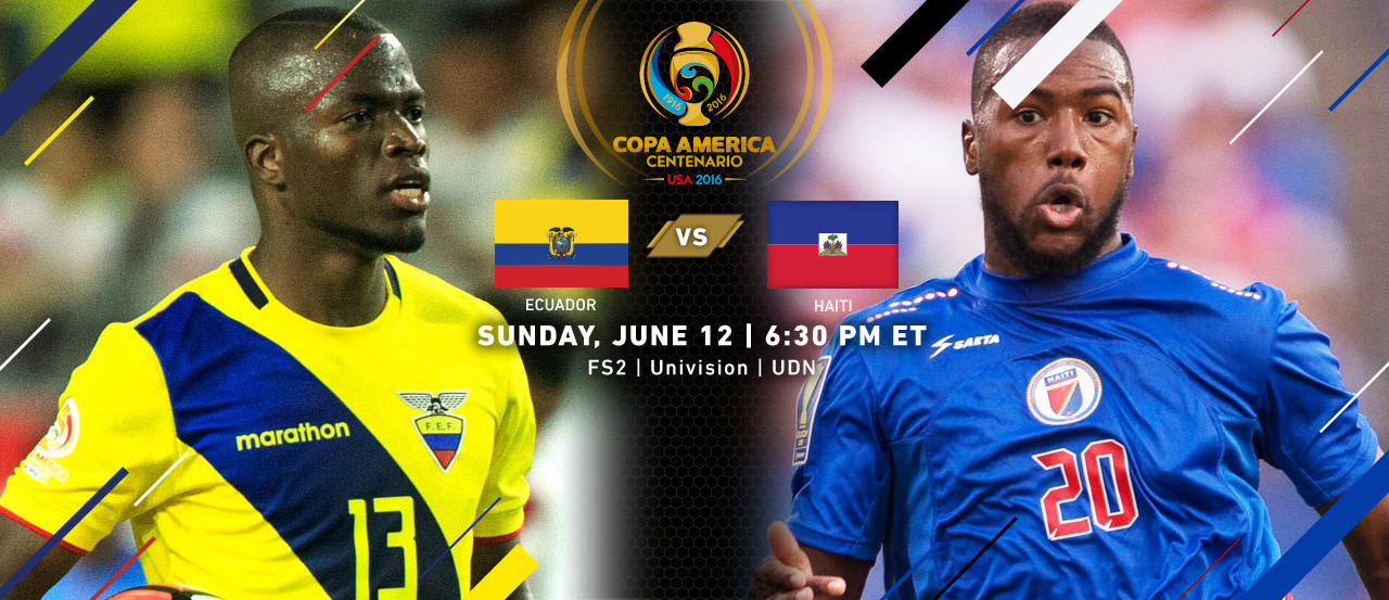 Ecuador vs. Haiti   Copa America Centenario Match Preview   MLSSoccer.com