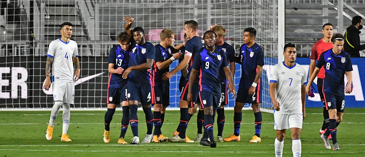 USMNT 6, El Salvador 0   2020 International Friendly Recap   MLSSoccer.com