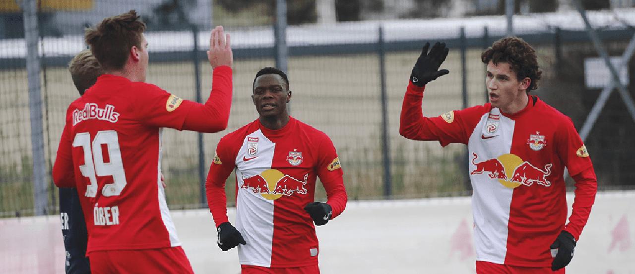 Brenden Aaronson scores debut goal for Red Bull Salzburg in friendly match   MLSSoccer.com