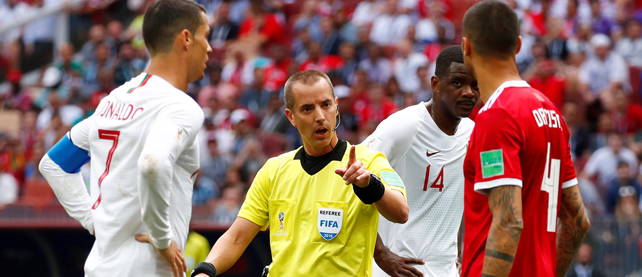 How MLS referee Mark Geiger did on his call of Portugal vs. Morocco   MLSSoccer.com